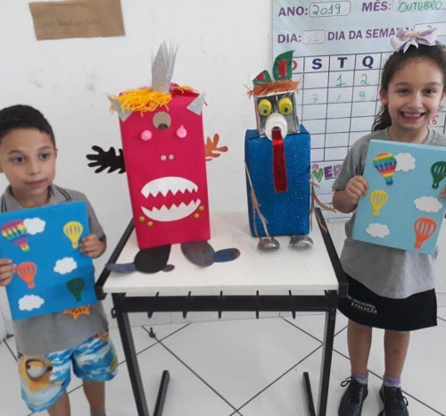 Projeto Criando e Aprendendo com as Fábulas