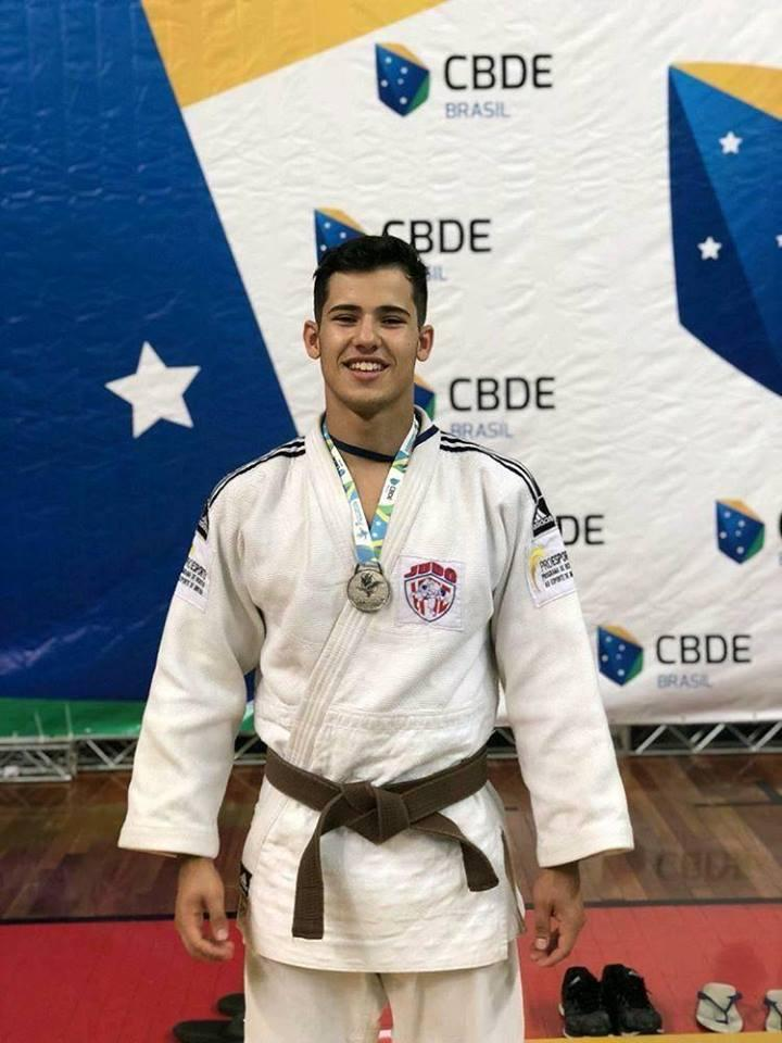 Vice-campeão Murillo Souza Candido